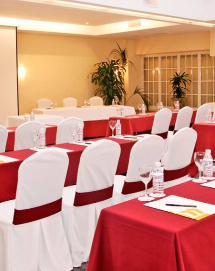 The function rooms at the Sercotel Carlos III Hotel are ...
